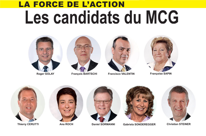 Elections Fédérales 2019 : Nos Candidats